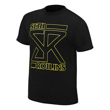 WWE AUTHENTIC SETH ROLLINS T-SHIRT M L XL 2XL NEW FREE SHIPPING THE ARCHITECT