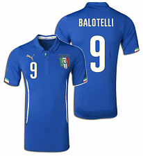PUMA M. BALOTELLI ITALY AUTHENTIC HOME JERSEY FIFA WORLD CUP BRAZIL 2014 ITALIA.
