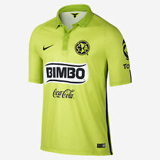 NIKE CLUB AMERICA YOUTH THIRD JERSEY 2015 MEXICO BOYS Atomic Green