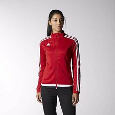 Adidas Women's Tiro 15 Power Red/White/Black Training Jacket