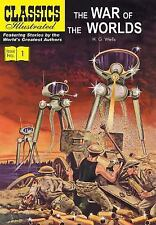 2-DAY SHIPPING | The War of the Worlds (Classics Illustrated), PAPERBACK, 2015