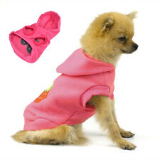 Pet Dog Cat Cute Strawberry Hoodie Clothes Warm Coat Jacket Puppy Apparel TO