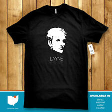 Layne Staley T-Shirt Black (S M L XL) Alice in Chains NWT Soft Premium Quality