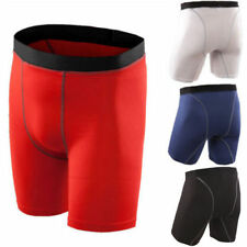 Mens Compression Shorts Base layer Stretch Workout Tight Pants Gym Jogger Jersey