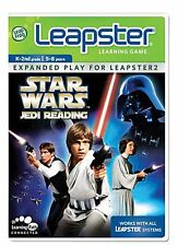 NEW LeapFrog Leapster Learning Game Star Wars Jedi Reading Leapster2  Leap Frog