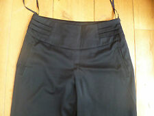 ALMOST FAMOUS SMART NAVY BLUE STRAIGHT LEG TROUSERS SUITING OCCASION UK 12 BNWT