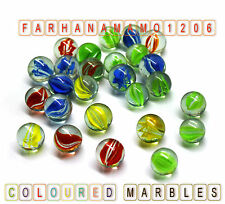 HI-QUALITY Coloured MARBLES Kids Glass Toys Traditional Games Party Bag Filler
