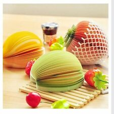 Pads Office Stationery Fruit Vegetable Memo Bookmarks Sticky Notes Stickers