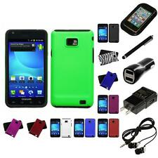 For Samsung Galaxy S2 i9100 Hybrid 2-Piece Hard Soft Case Cover Skin Headphones