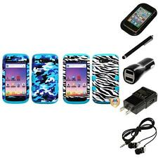 For Samsung S Blaze 4G T769 Hybrid TUFF IMPACT Phone Case Hard Cover Headphones