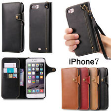 Luxury Magnetic Flip Cover Wallet Leather Case For Apple iPhone 6/6s/7/7 Plus