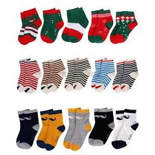 5 Pairs Soft Kids Boys Girls Cotton Winter Warm Socks Stockings Children Socks