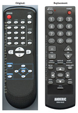 Original Funai NF604UD Replacement LCD TV Remote Control by Anderic