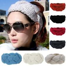 Lady Crochet Headband Knit Hair Band Winter Ear Warmer Headwrap Hair Accessory