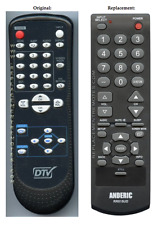 Original DTV Sylvania & Emerson NF601UD Replacement Remote Control by Anderic