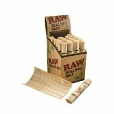 Genuine Raw Mat Natural Authentic Wood Bamboo Smoking Rolling Cigarette **NEW**