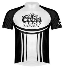 Coors Light Team Cycling Jersey Men's Short Sleeve with DeFeet Socks