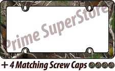 Camouflage Hunting Nature Muddy Water License Plate Frame High Quality Camo Girl