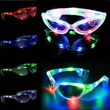 Shades Blinking Glasses Glow Light Up LED Flashing Sunglasses