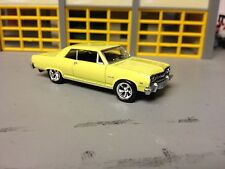 1/64 65 Chevy Chevelle SS 327 4Speed in Butternut yellow with Black Int
