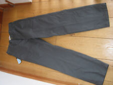 MARKS AND SPENCERS GREEN GREY STORMWEAR CHINOS 30 32