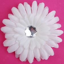 Baby Girls Rhinestone Daisy Flower Hair Clip Pins Headband Beanie Photos Props