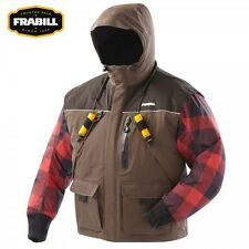 Frabill I3 Series Ice Fishing Parka Jacket Choose Size L or XL - Color Brown