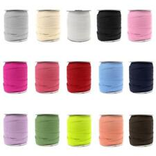 50 Yard Elastic Ribbon Band Rope Cord String Webbing Trim for Sewing Crafts 18mm