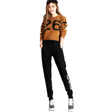 Womens Ladies Jogging Bottoms Joggers Track Pants Gym Sweat Trousers SQ