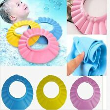 Kids Shampoo New Baby Wash Hair Shield Hat Bathing Shower Cap