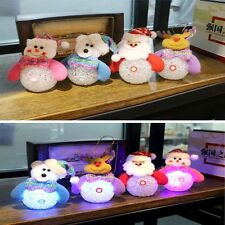 Cute Decoration LED Light Christmas Tree Decorations Christmas Santa Christmas