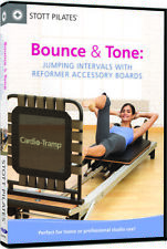 Stott Pilates: Bounce & Tone - Jumping Intervals with Reformer A (2012, DVD NEW)