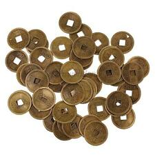 50x Chinese Style Copper Cash Coins Charms Pendant for Jewelry Making 14/20/28mm