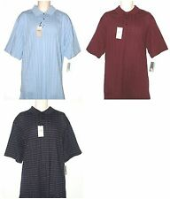Haggar Big & Tall Mens Short Sleeve Polo Shirt Top LT XLT 2XLT NEW $50