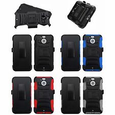"3-Layer Holster Stand Cover Case HTC Sprint NM82PYB200 Bolt M10f 10 Evo (5.5"")"