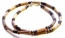 Hazelwood Therapeutic Tiger Eye & Wood Necklace *