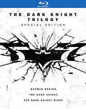 THE DARK KNIGHT TRILOGY BLU RAY 6 DISC SET SPECIAL EDITION + PRINTS & LETTER