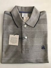 NWT BROOKS BROTHERS 1818 MEN PERFORMANCE POLO SLIM FIT GOLDEN FLEECE S_XL $69.50