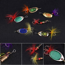 6 Pcs Fishing Lures Mix Outdoor Fishing Lifelike Tackle Bait For Fishing Lover B