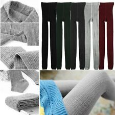Winter Warm Knit Women Thick Tights Skinny Leg Pantyhose Stretch Cotton Stocking