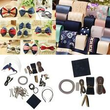 Set of Hair Bow Band Barrettes Ribbons Kit for Handmade Kids Hair Accessories