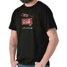 Life Is Crap Out Of Wine Good Life Funny T Shirts Gift Ideas T-Shirt Tee