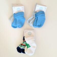 New Gymboree Baby Boy Socks Lot of 6 Pairs Size 3-6 months