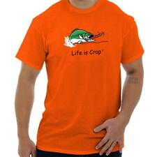 Life Is Crap Bass Fishing Good Life Funny Shirts Gift Ideas T-Shirt Tee
