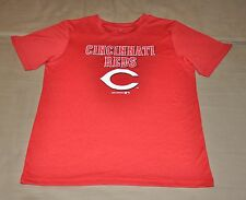 NWOT Cincinnati Reds Boys Youth Performance T-Shirt (L) Shirt Jersey Hat Large