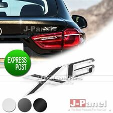 X6 REAR BOOT LETTER BADGE EMBLEM for ALL BMW  E71 CAR PREMIUM EXTERIOR 3 COLORS