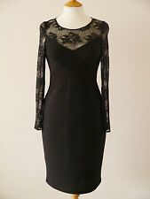GINA BACCONI 80047 LACE TOP BANDAGE STYLE DRESS PARTY COCKTAIL RRP £225 SAVE 50%