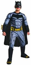 Batman v. Superman Dawn of Justice Deluxe Muscle Chest Kids Boys Batman Costume