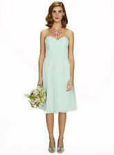 Bhs Darcy Short Bridesmaid Dress Light Mint Size 14 BNWT
