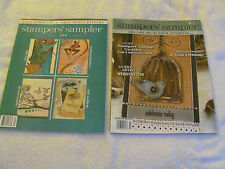 Lot of 2 Stamper's Sampler Magazine Feb/Mar 2007 and Apr/May 2010